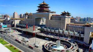 pekin dworzec w chinach