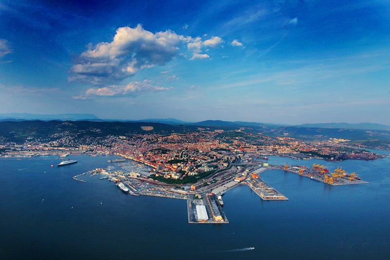 triest - porty w europie