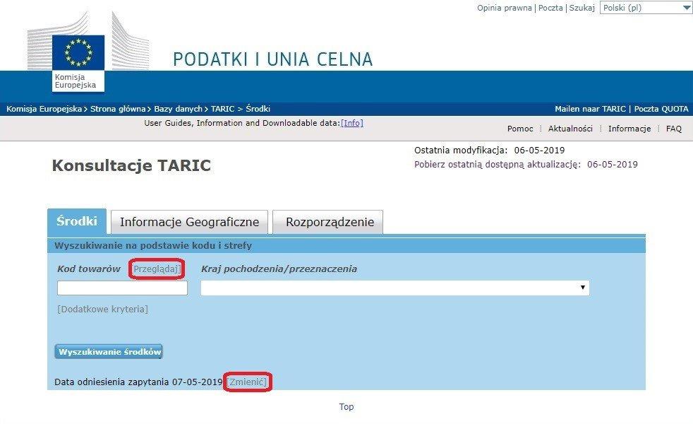 system taric